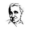 Pliage de livre portrait Charles Aznavour
