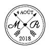 Patron livre plié mariage M-R 4 Août 2018