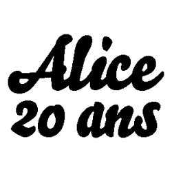 Alice's 20th folded book