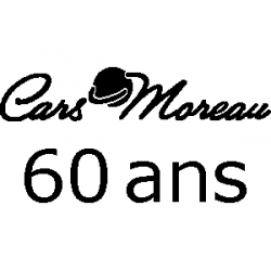 Cars Moreau - 60 ans folded book