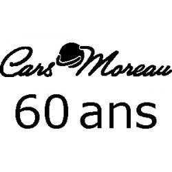 Pliage de livre Cars Moreau - 60 ans