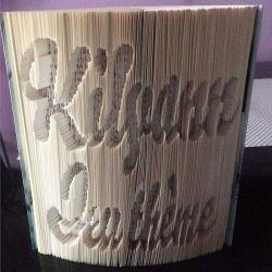 Pliage de livre Kilyann