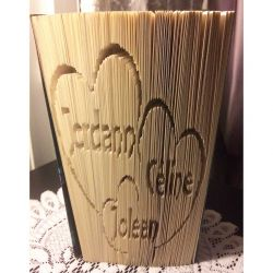 Jordann Céline Joleen family folded book