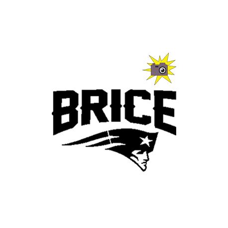 Pliage de livre Brice - logo New England Patriots