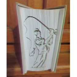 Fisherman folded book