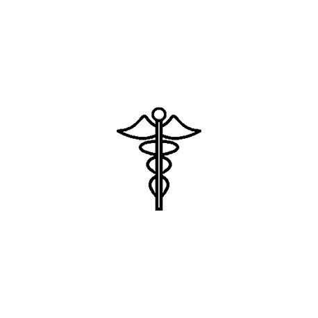 Pliage de livre symbole osthéopathe