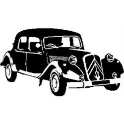Pliage de livre Citroën traction (n° 2)