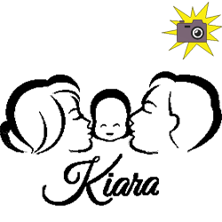 New born Kiara folded book