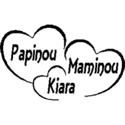 Pliage de livre Papinou - Maminou - Kiara