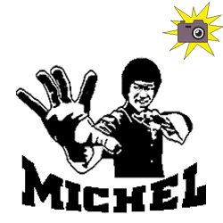 Pliage de livre Bruce Lee - Michel