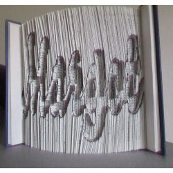 Margot folded book