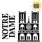 Pliage de livre cathédrale Notre-Dame de Paris