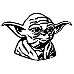 Pliage de livre tête de Yoda (Star Wars)