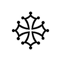 Pliage de livre croix occitane