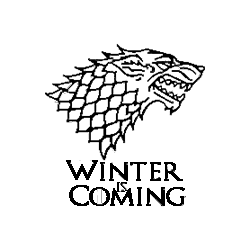 Pliage de livre Game of Thrones - Winter is Coming