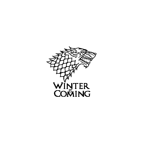 Game of Thrones - Winter is Coming folded book