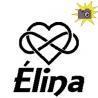 Pliage de livre Elina décor coeur infini