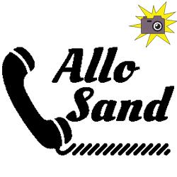 Allo Sand (Hello Sand) handset detail folded book