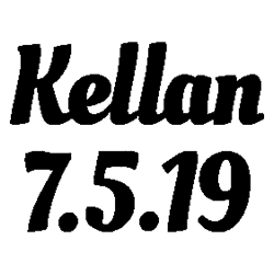 Kellan - 7.5.19 folded book