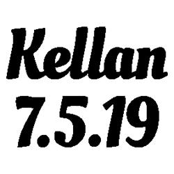 Pliage de livre Kellan - 7.5.19