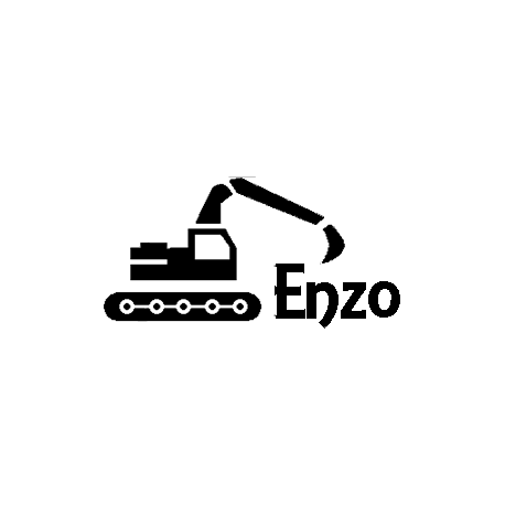 Enzo backhoe set folded book