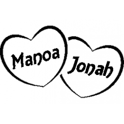 Manoa - Jonah hearts set folded book