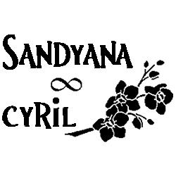 Pliage de livre mariage Sandyana - Cyril décor orchidées