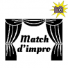 Pliage de livre Match d'impro théâtre
