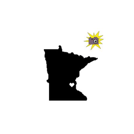 Love Anoka county / Minnesota folded book