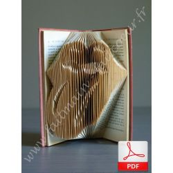 Rolling Stones logo folded book