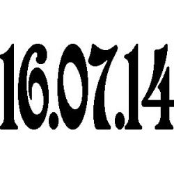 """Date """"16.07.14"""""""