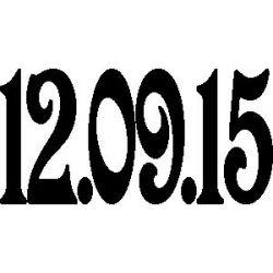 """Date """"12.09.15"""""""