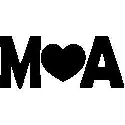 """Initiales """"M♥A"""""""
