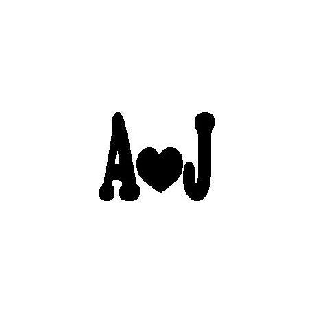 Patron livre plié A Love J