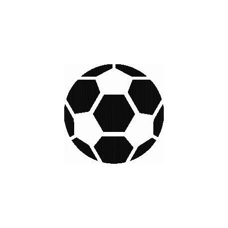 Patron livre plié ballon de foot