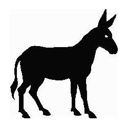 Pliage de livre âne