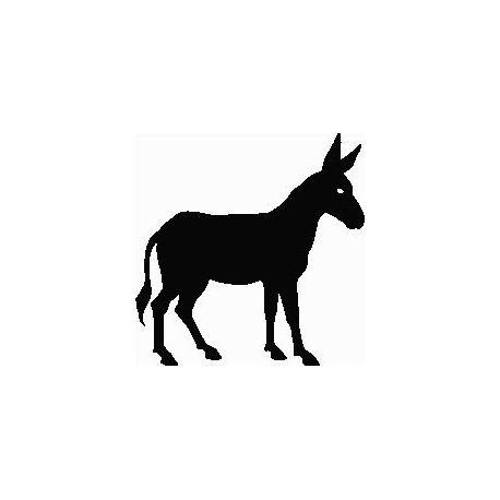 Patron livre plié âne