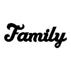 """Patron livre plié """"Family"""""""