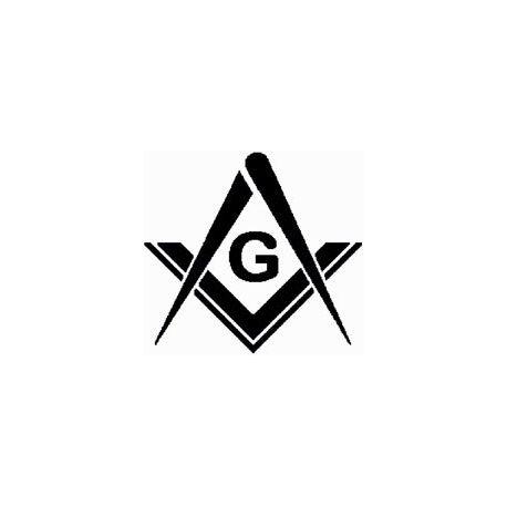 Masonic lodge logo custom folded book pattern