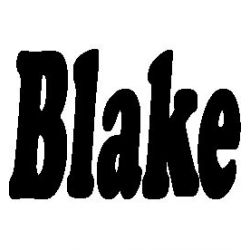 Pliage de livre Blake