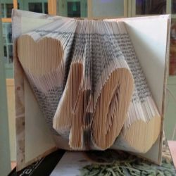 ♥ 40 ♥ folded book