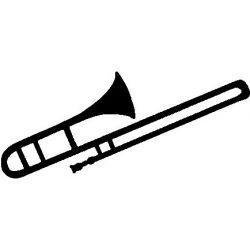 Patron livre plié sur mesure trombone à coulisse