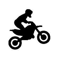 Patron livre plié sur mesure motocross
