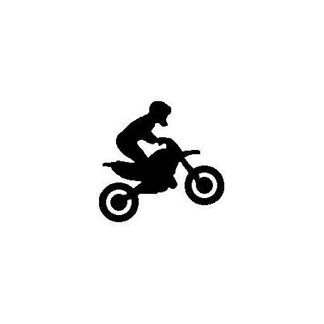 Custom folded book pattern motocross