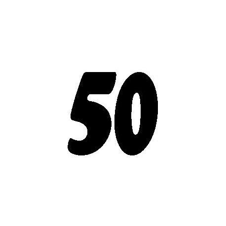 Patron livre plié sur mesure 50