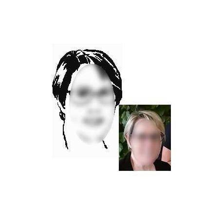 Portrait découp'pliage Catherine