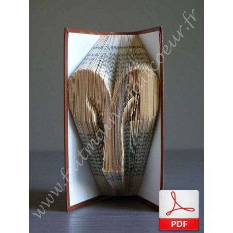 Folded book aries sign