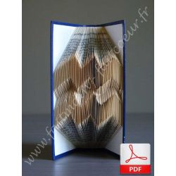 Folded book aquarius sign