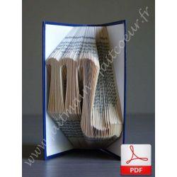 Folded book scorpio sign