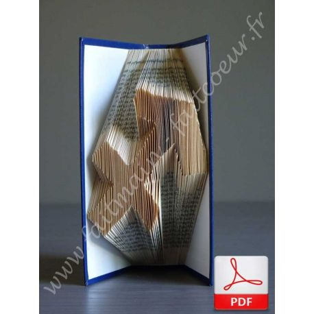 Folded book sagittarius sign